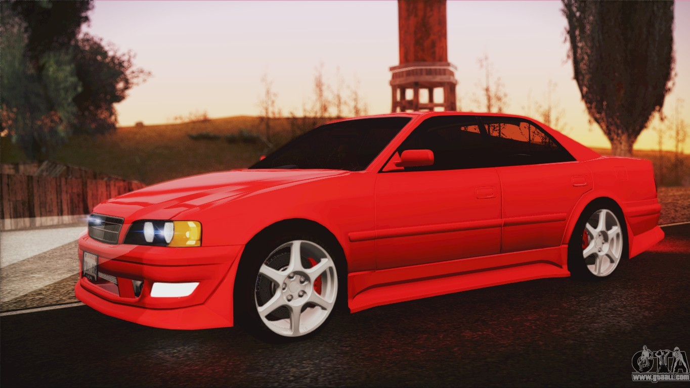 toyota chaser (zx 100) 1999 #13