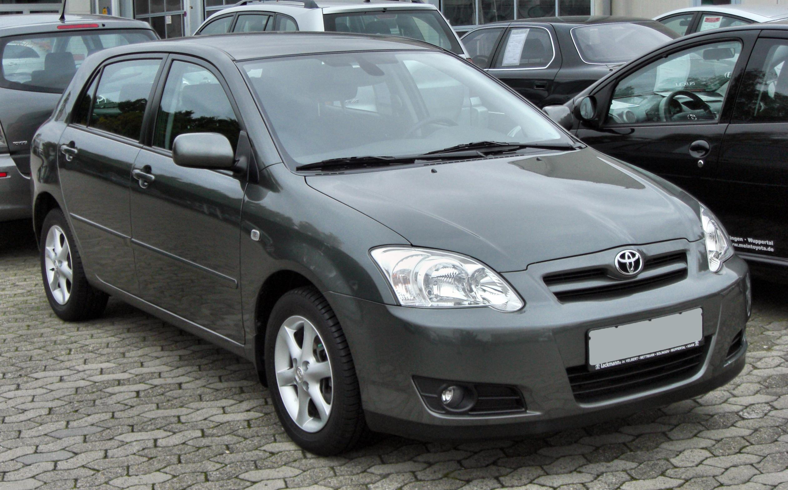1998 Toyota Corolla compact (e11) – pictures, information and specs