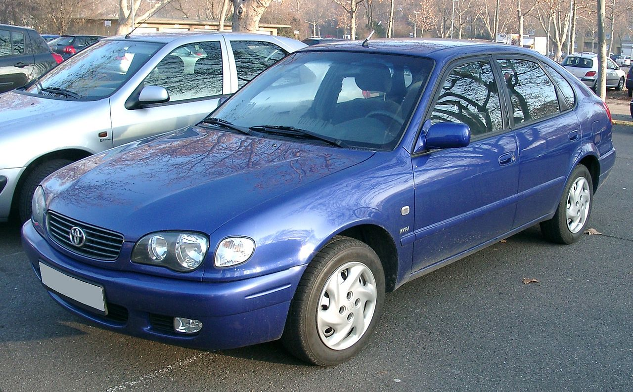 2000 toyota corolla liftback e11 pictures information and specs auto. Black Bedroom Furniture Sets. Home Design Ideas