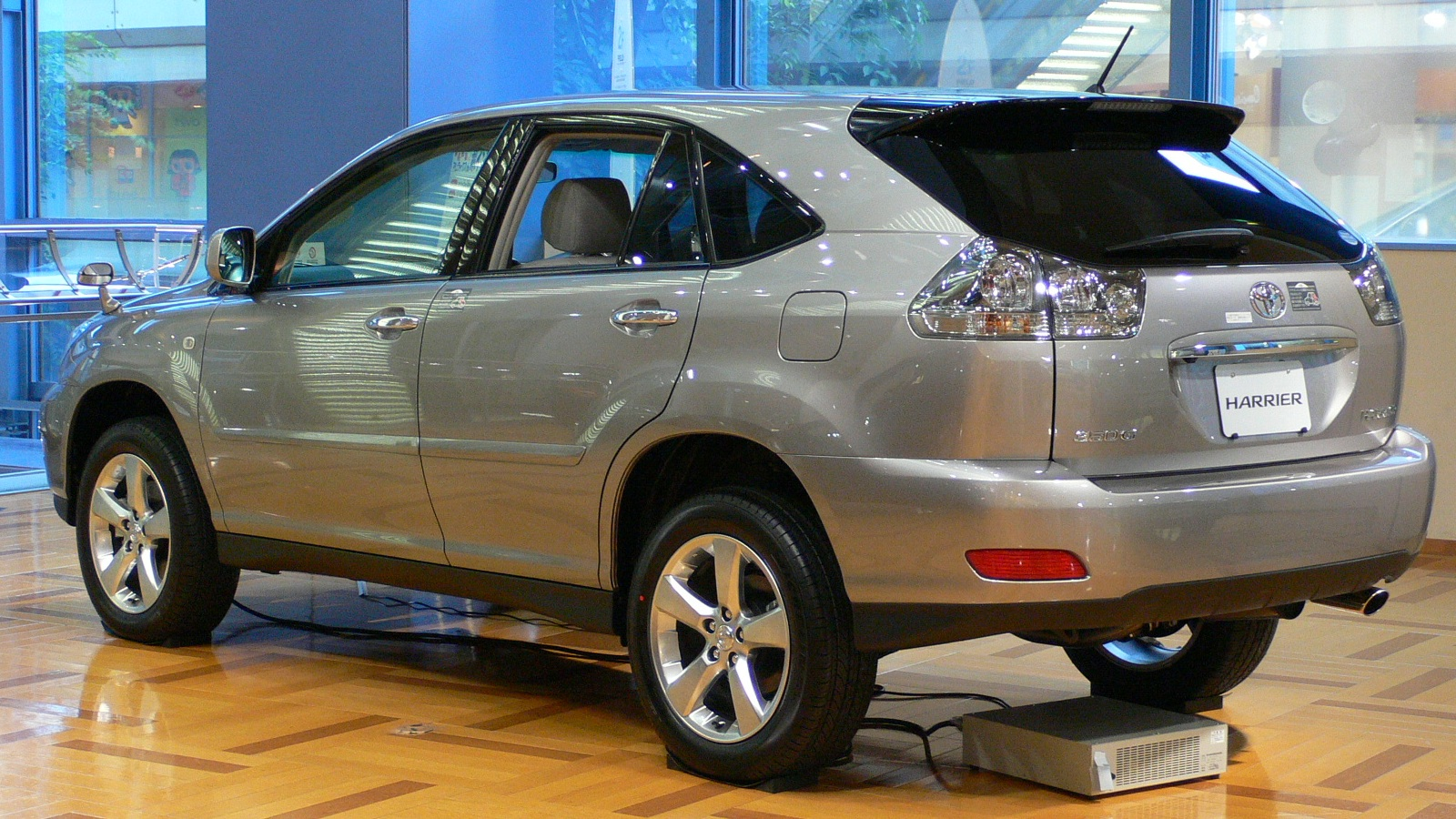 2001 Toyota Harrier Pictures Information And Specs