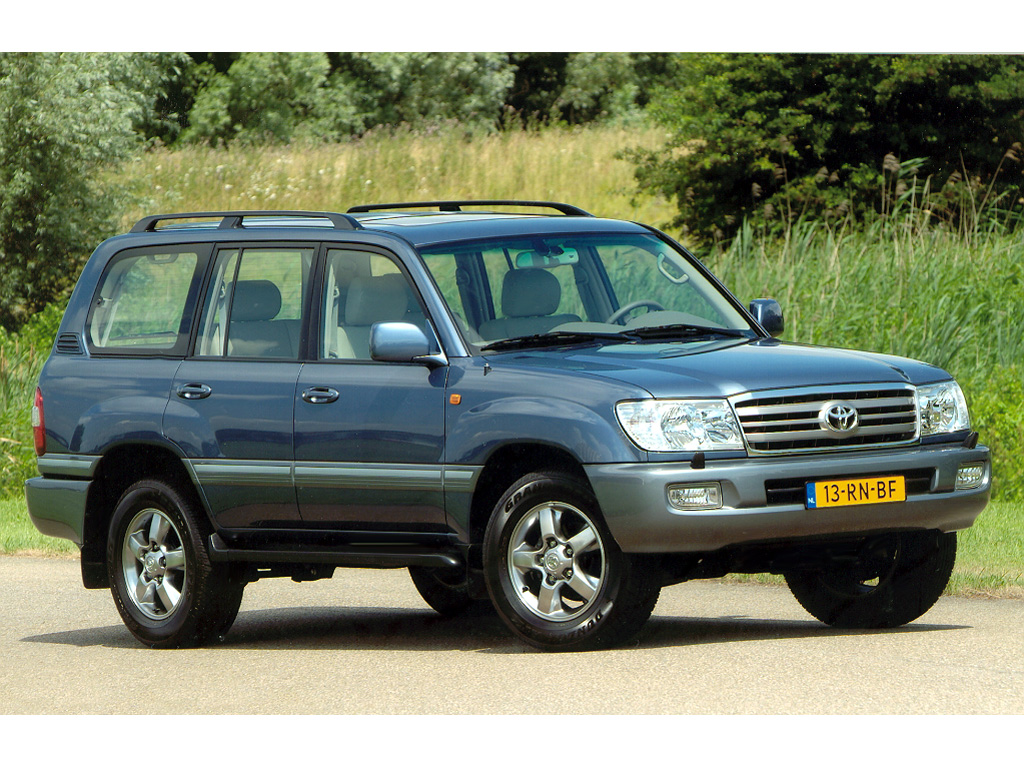 2004 Toyota Land Cruiser 100 Pictures Information And Specs Auto Database Com
