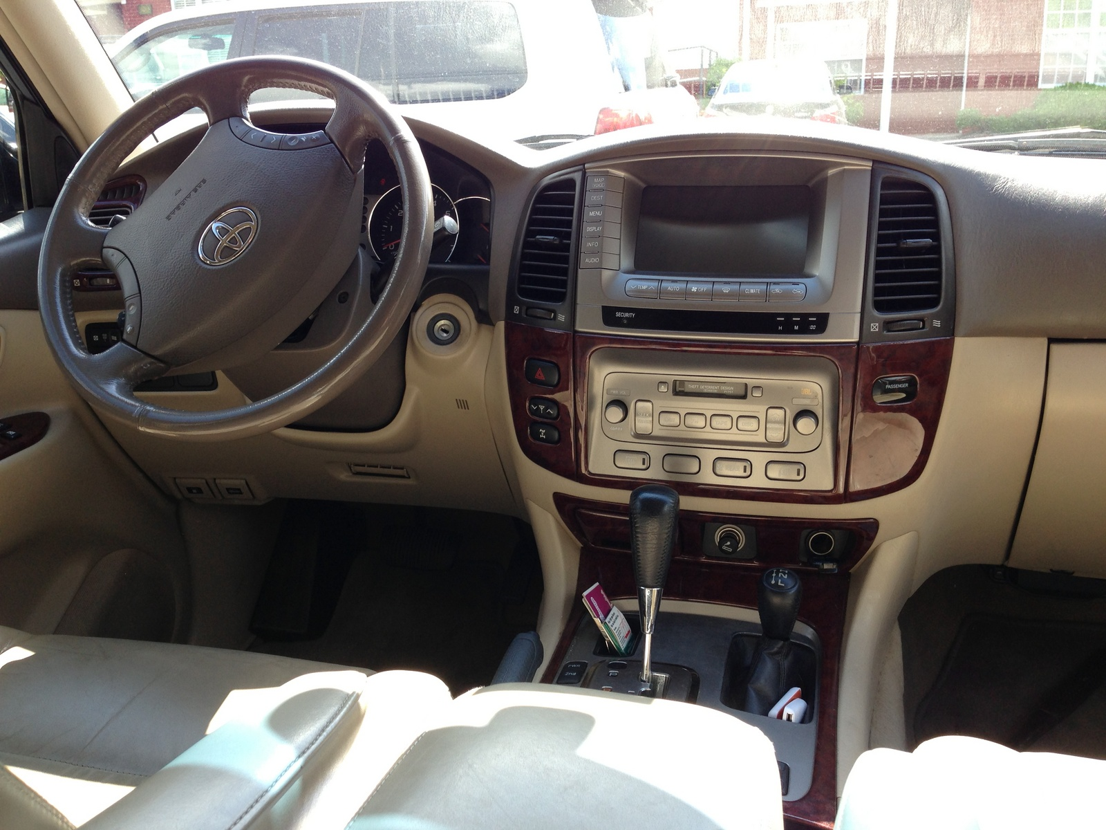 2005 Toyota Land Cruiser 100 Pictures Information And Specs Interior Pics 15