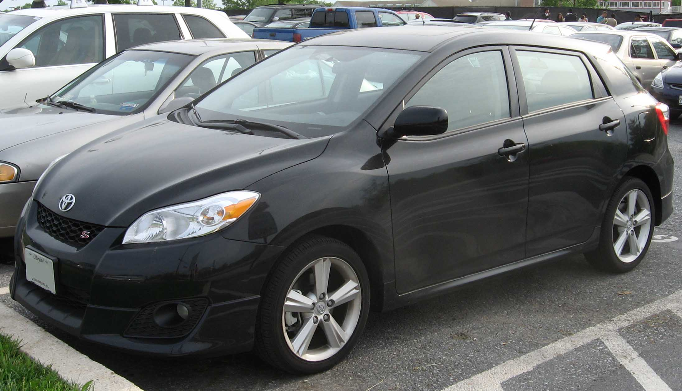 2009 toyota matrix ii pictures information and specs. Black Bedroom Furniture Sets. Home Design Ideas
