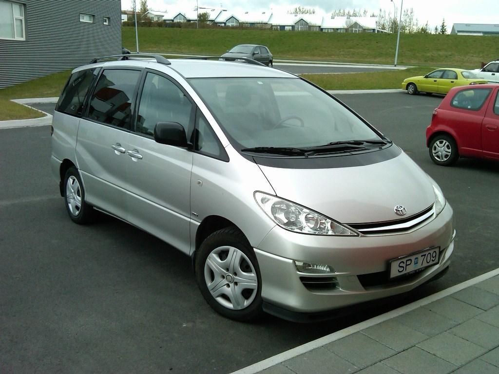 2003 Toyota Previa Pictures Information And Specs