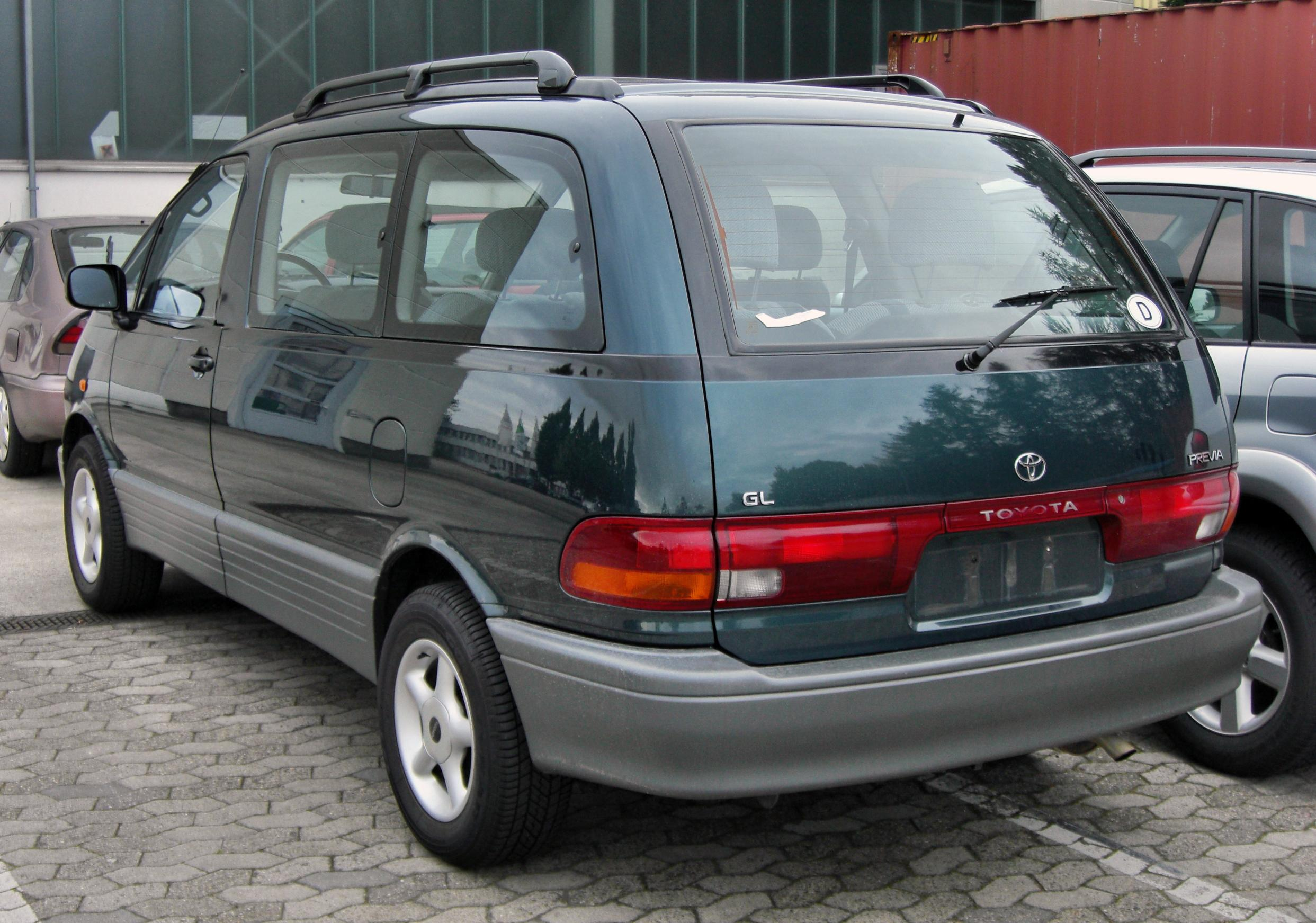 toyota previa (cr) 1990 pictures