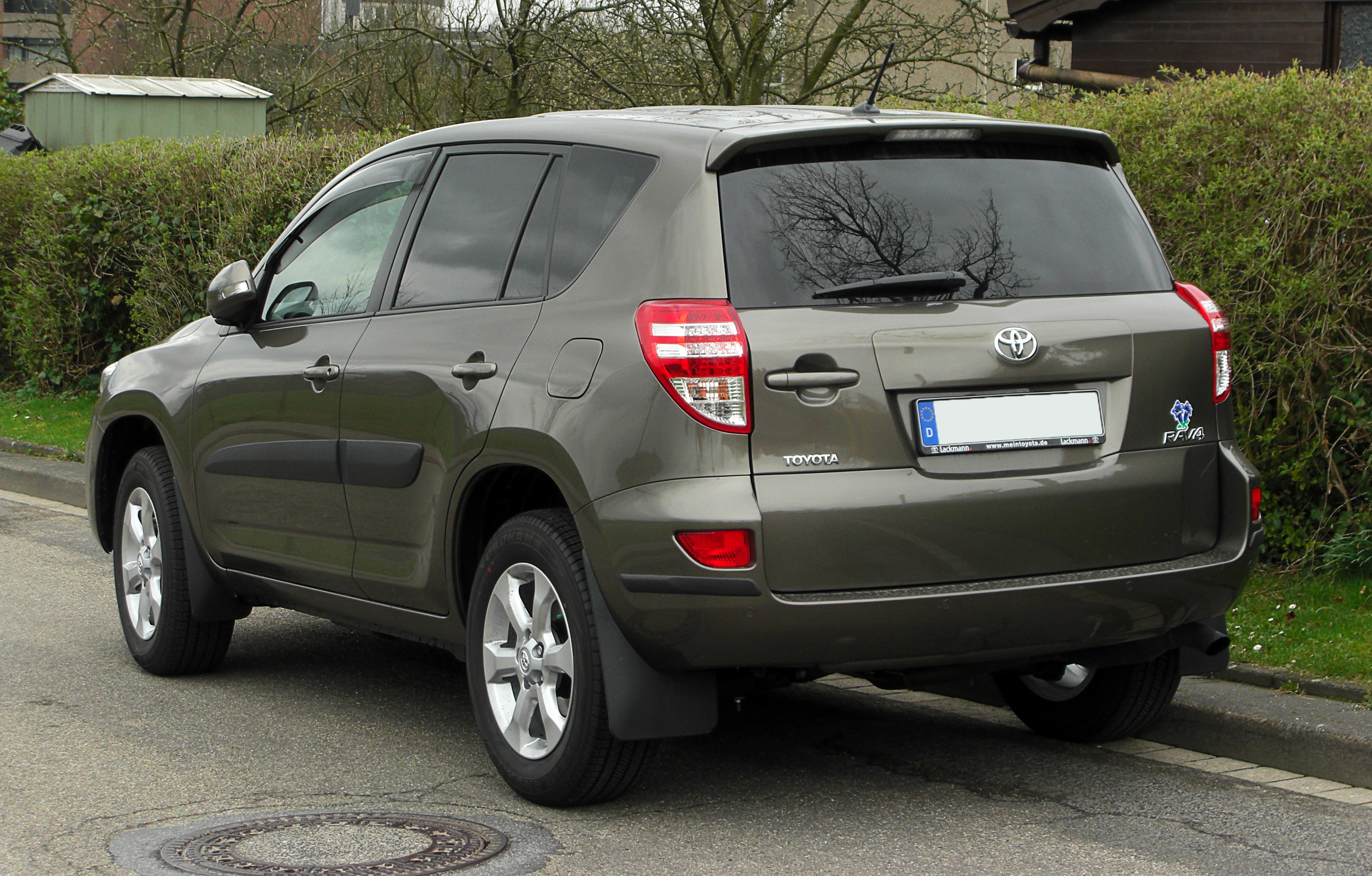 2011 Toyota Rav4 Iii Pictures Information And Specs