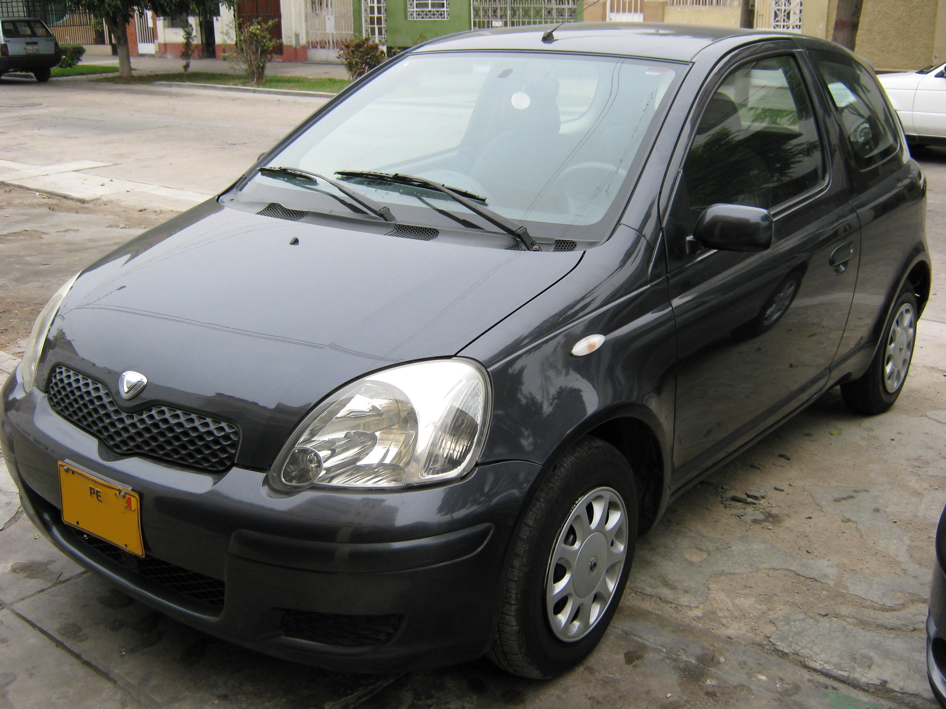 toyota vitz 2002 - Auto-Database com