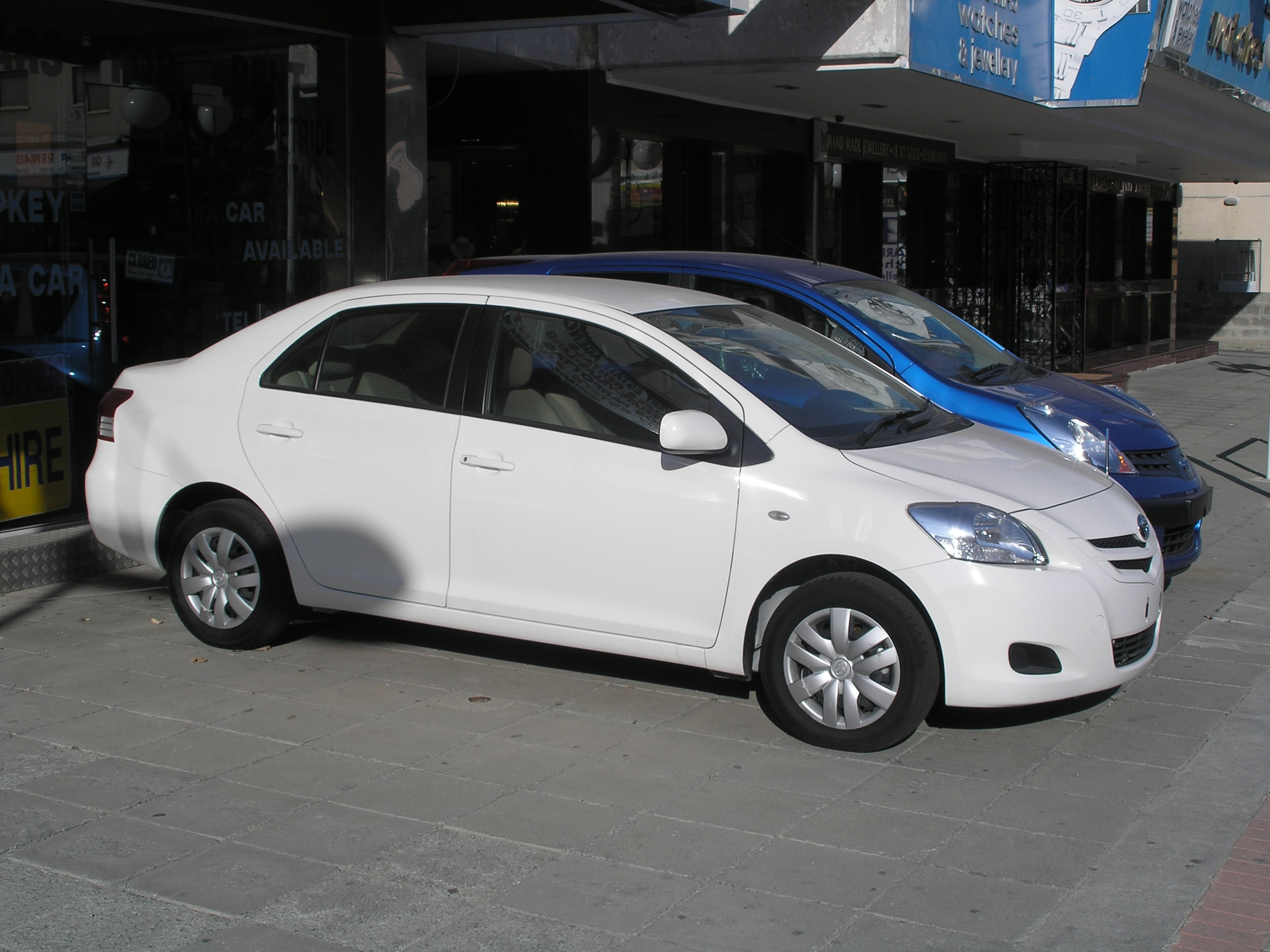 2007 toyota yaris sedan xp9 pictures information and. Black Bedroom Furniture Sets. Home Design Ideas