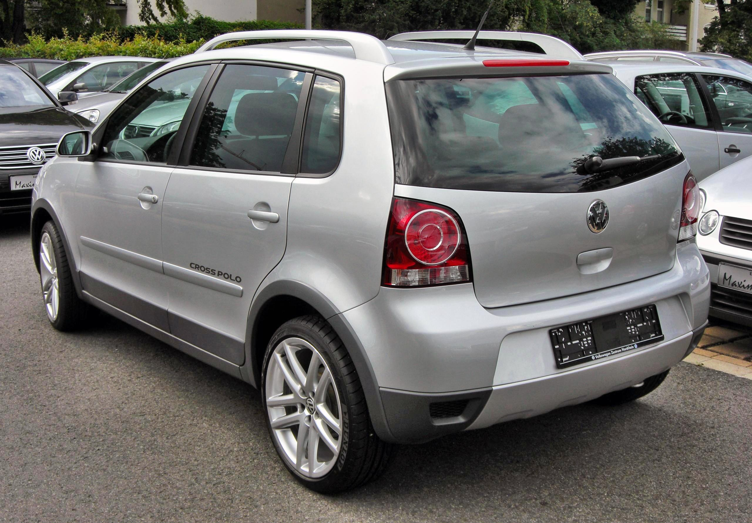 2009 volkswagen cross polo pictures information and. Black Bedroom Furniture Sets. Home Design Ideas