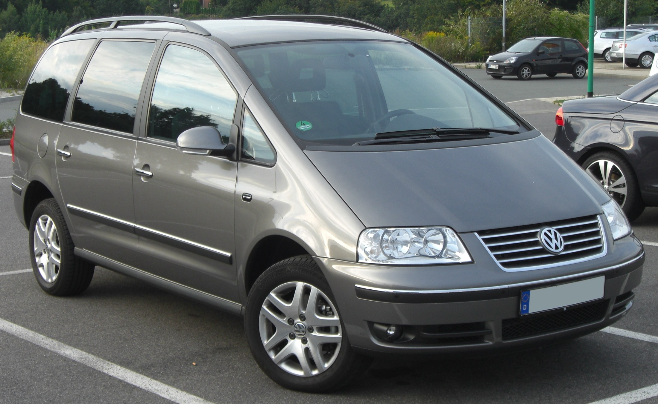 volkswagen sharan (7m) 2007 wallpaper #4