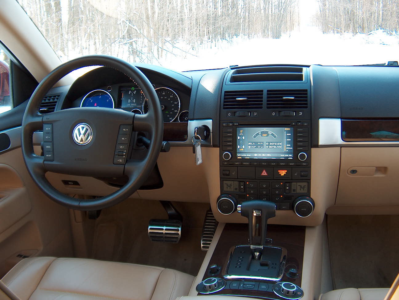 2005 Volkswagen Touareg 7l – pictures, information and ...