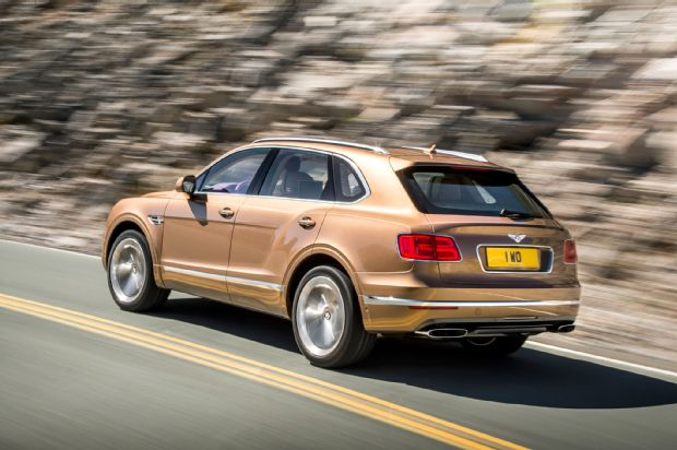 Revealed Details About 2017 Bentley Bentayga SUV